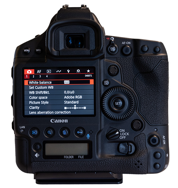 Setting up a Canon EOS 1DX Mark III for Nature Photography